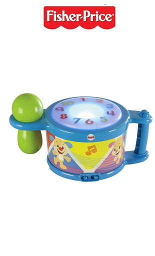 Tamburello Tocca e Impara Fisher Price