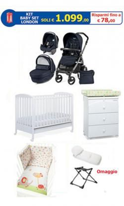 Kit Baby Set London online - Prezzo: 1099.00 €