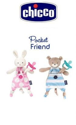 Porta Ciuccio Chicco Pocket Friend online - Prezzo: 15.90 €