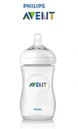 Biberon Avent Natural 260ml online - prezzo: 8.80 €