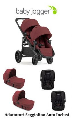 Trio Gemellare Baby Jogger City Select Lux