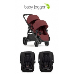 Duo Gemellare Baby Jogger City Select Lux  online - prezzo: 1379.00 €