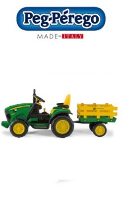 Trattore Peg Perego John Deere Ground Force online - Prezzo: 289.00 €