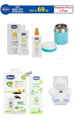 KIT Baby Set TROPICAL online - Prezzo: 69.00 €
