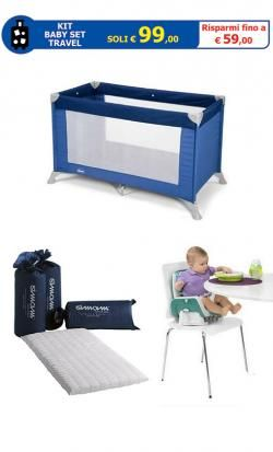 KIT Baby Set Travel online - Prezzo: 99.00 €