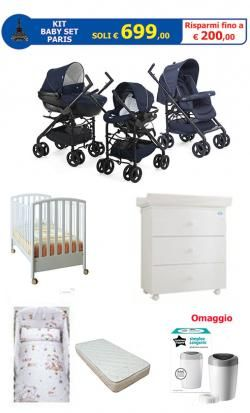 KIT Baby Set PARIS  online - Prezzo: 699.00 €