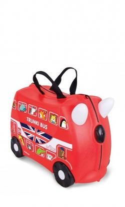 valigia cavalcabile trunki boris bus red online - Prezzo: 59.00 €