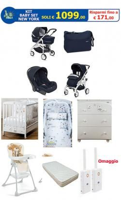 KIT Baby Set NEW YORK online - Prezzo: 1099.00 €